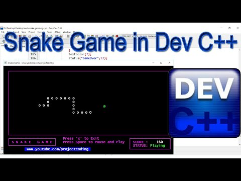Make A Snake Game In C++ - With Source Code - For Beginners