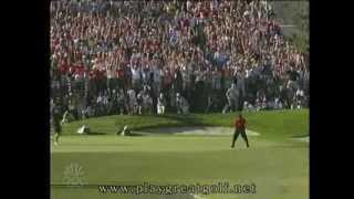 Tiger Woods 2008 US Open Day 4 Final Hole