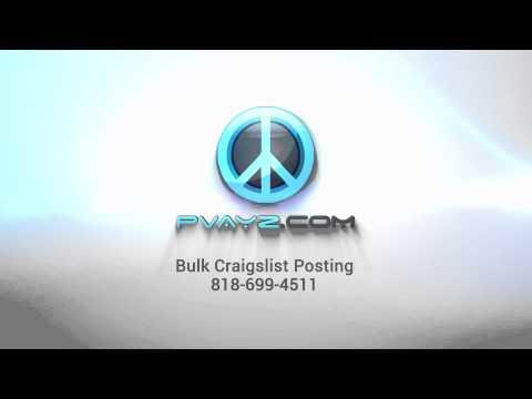 Craigslist Posting Service | www.Pvayz.com | Pvayz