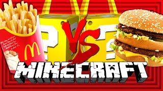 Minecraft: MCDONALD'S LUCKY BLOCK CHALLENGE | THE COOK OFF
