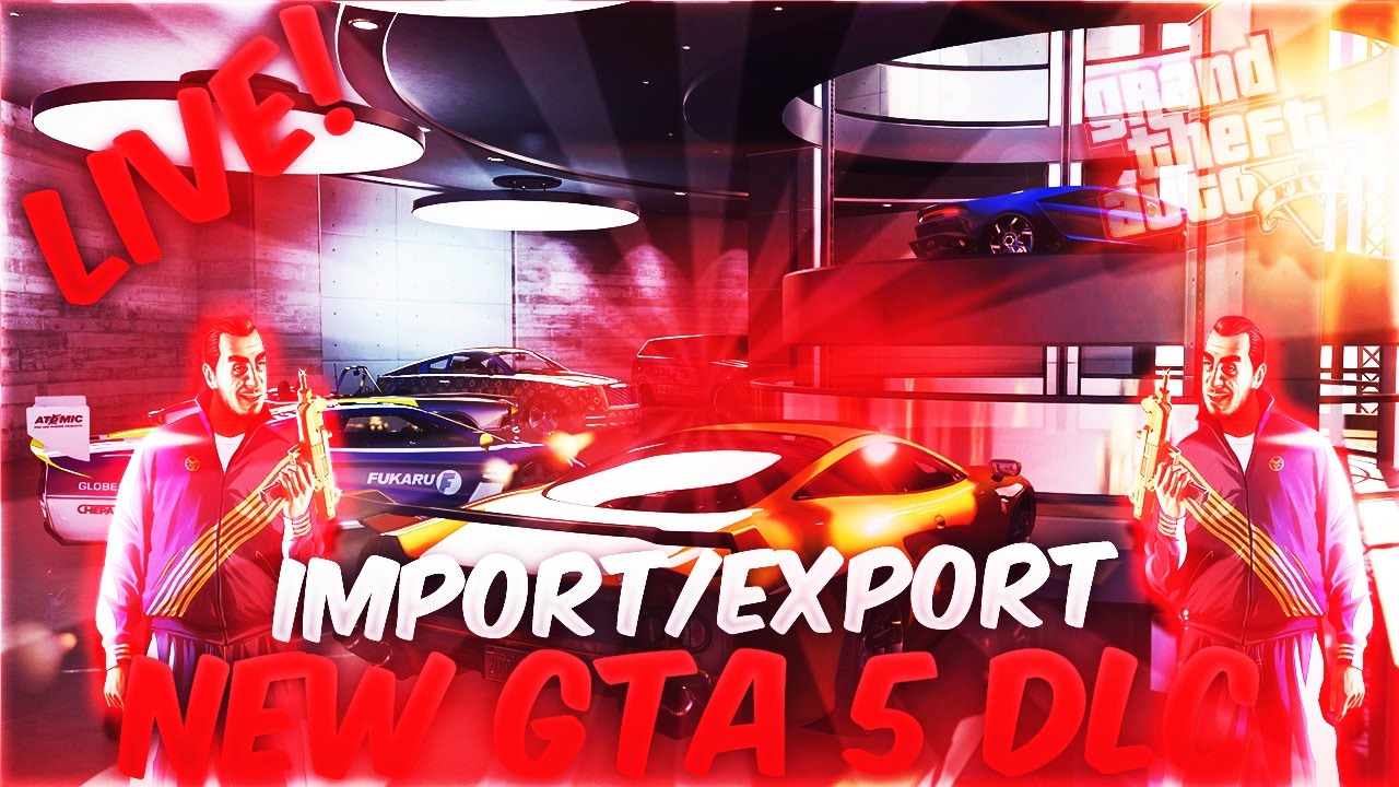 gta 5 import export how to start