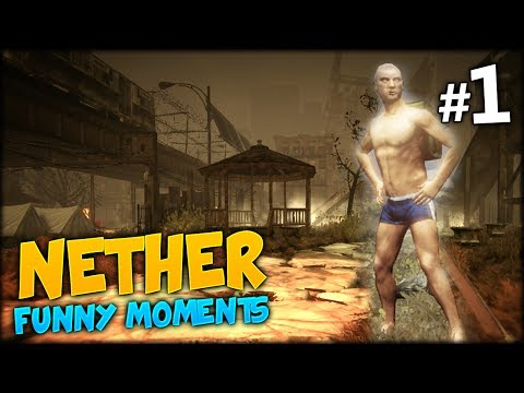 Nether Funny Moments #1 - GIRLY SCREAM, CRAZY TAUNTS AND LOOKING FOR MY MOM ONLINE?