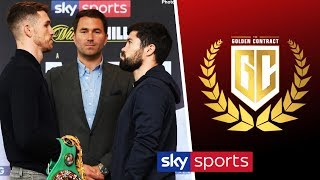 LIVE! Callum Smith vs John Ryder press conference & Golden Contract Super-Lightweight Weigh-In