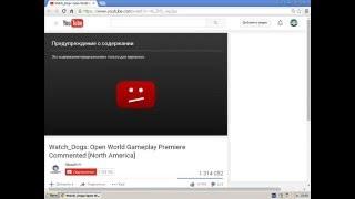 Обход ограничение на возраст в Youtube [Tutorial#1 от Дастана]