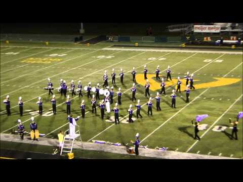 Warren De La Salle Collegiate High School Marching Band at WSU, 9-26-2014 [HD] 15 min