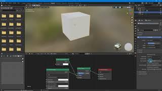 Blender 2.9+ Basic Material Tr…