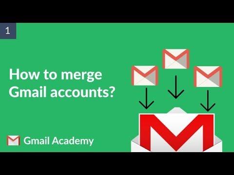How To Merge Gmail Accounts?
