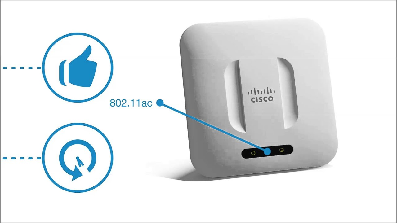 Cisco WAP371 Wireless Access Point - YouTube