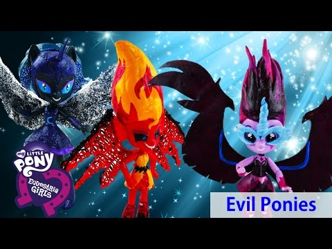 Compilation - My Little Pony Evil Sunset Shimmer Midnight Sparkle Nightmare Moon