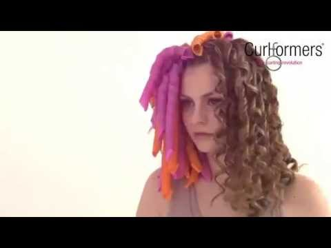 Бигуди Magic leverag - YouTube