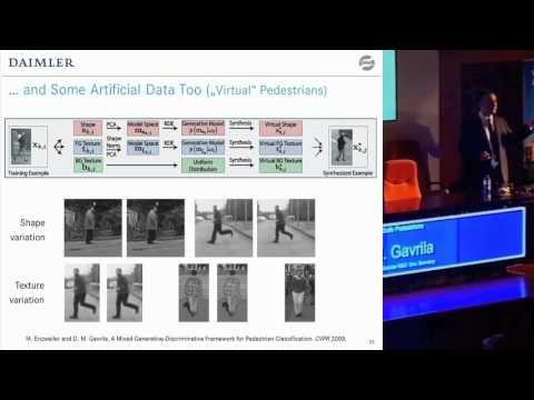 (Enhanced) IV'12 Dariu M. Gavrila - Smart Cars for Safe Pedestrians - Pedestrian Detection