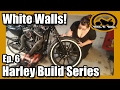 "Harley Iron 883 Sportster ""Build"" Series - Ep.6 Paint and New Tires"