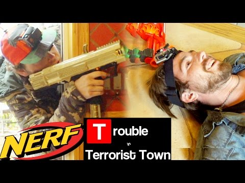 NERF TTT - Mansion Massacre