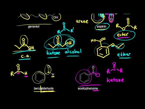 Identifying functional groups | Organic chemistry | Khan Academy