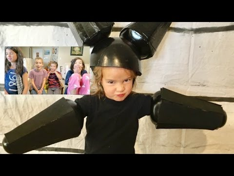 Kids Reactions to Costumes   12 years of Themed Costumes