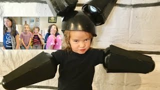 Kids Reactions to Costumes | 12 years of Themed Costumes