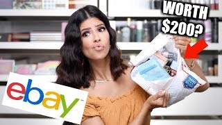 I BOUGHT A $100 EBAY MYSTERY MAKEUP BOX... was it worth it?