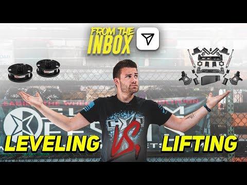 Leveling Kit vs Lift Kit || From The Inbox