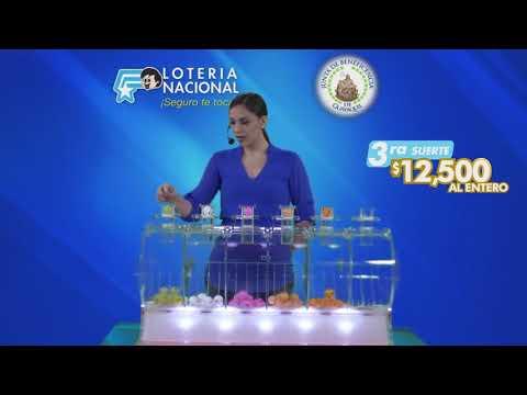 Sorteo Lotería 6396 28-FEB-2020