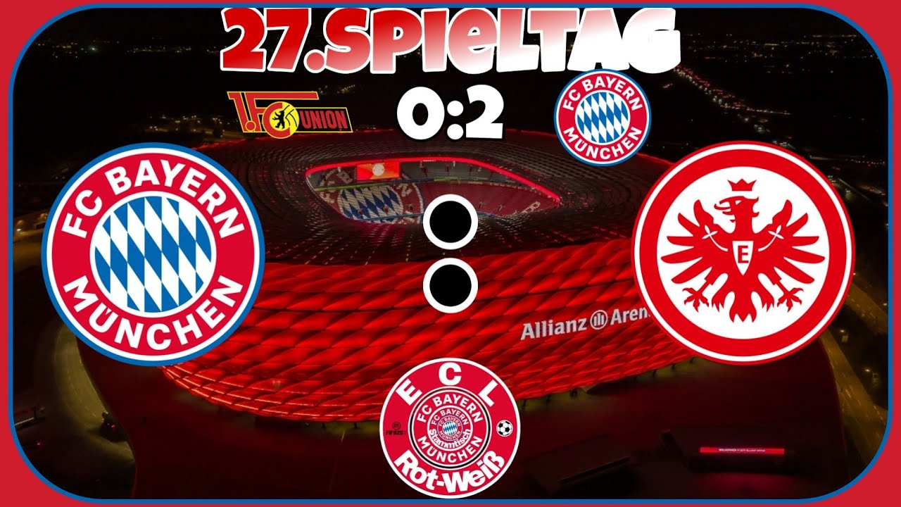 Fc Bayern Eintracht Frankfurt 2021
