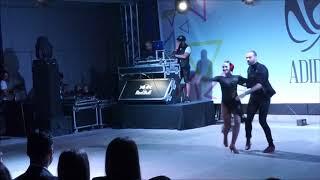 Talal and Edyta Salsa fusion show Abu Dhabi Salsa Festival 2018
