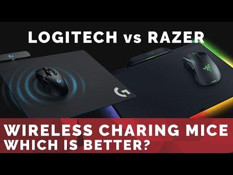 Wireless Charging Mice: Logitech G903 Mouse & PowerPlay vs Razer Mamba & Firefly Hyperflux