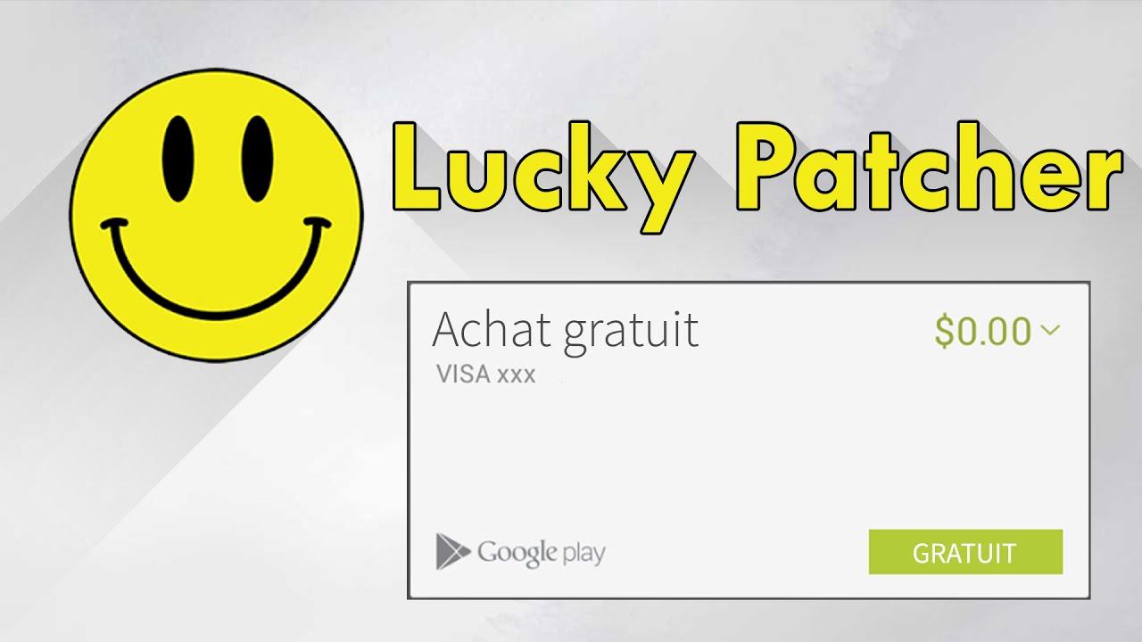 نتيجة بحث الصور عن lucky  patcher