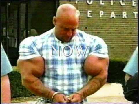biceps largest Man with