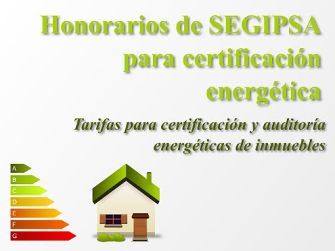Tarifas de Certificados energéticos