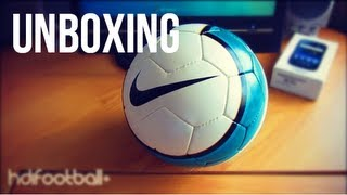 Unboxing Nike T90 Aerow II EPL Match Ball 07-08