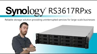 Synology RackStation NAS RS3617RPxs 12-Bay 2U, 2x PSU (no RAIL KIT)