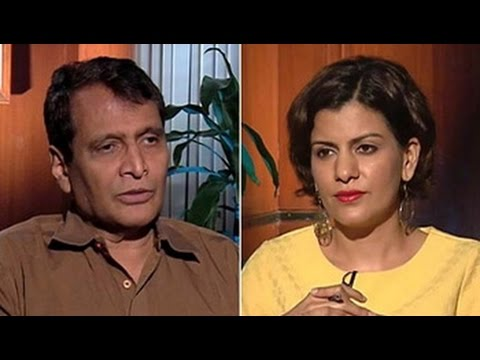 'We communicated wrongly on land bill': Suresh Prabhu to NDTV