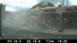 Shopping center explodes in Forestville, Maryland - Caught on tape!