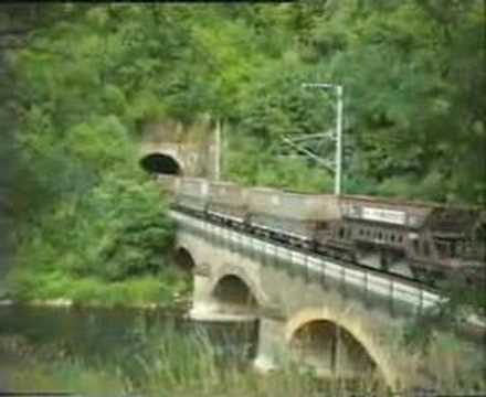 Ore train for Arbed in Goebelmühle - Juli 4, 1994