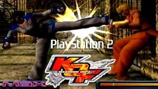KoF Maximum Impact playthrough (PS2)