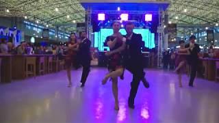 Ученики Va Bene на презентации танго школ Одессы. 3/02/2019