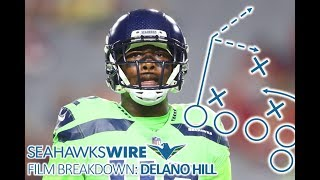 Film Breakdown: Untested Delano Hill adds intrigue to Seattle secondary thumbnail