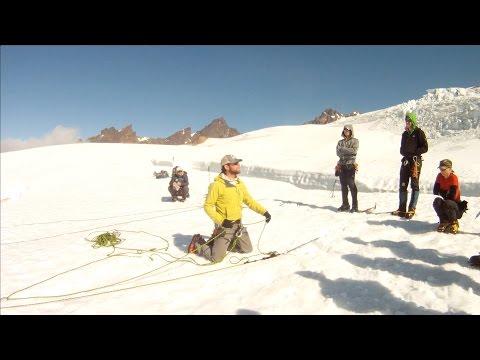 Glacier Crevasse Rescue Demo