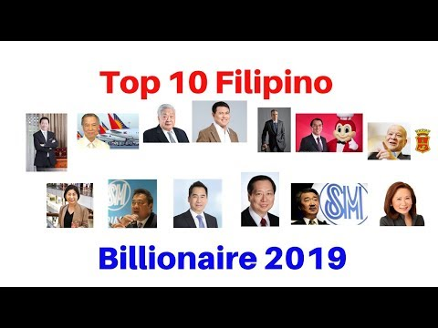 TOP 10 BILLIONAIRE IN THE PHILIPPINES 2019