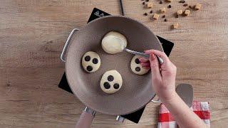 Оладьи с шоколадной начинкой - Рецепты от Со Вкусом