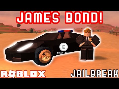JAMES BOND CHALLENGE | Roblox Jailbreak Roleplay Challenge