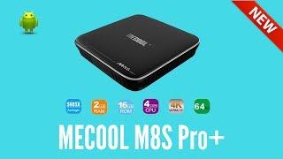 MECOOL M8S Pro Plus TV Box Amlogic S905X Android 7.1 2GB RAM 16GB ROM