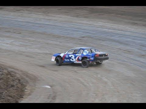 Desert Thunder Raceway|IMCA Stock Car Heat Races|9/30/17|Castle Country Clash