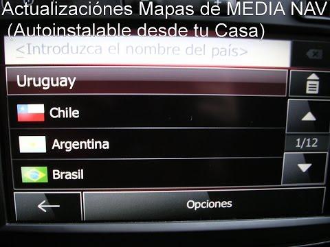Media Nav Renault Mapas Originales de Uruguay, Brasil, Argentina, Chile, MediaNavcba@gmail.com