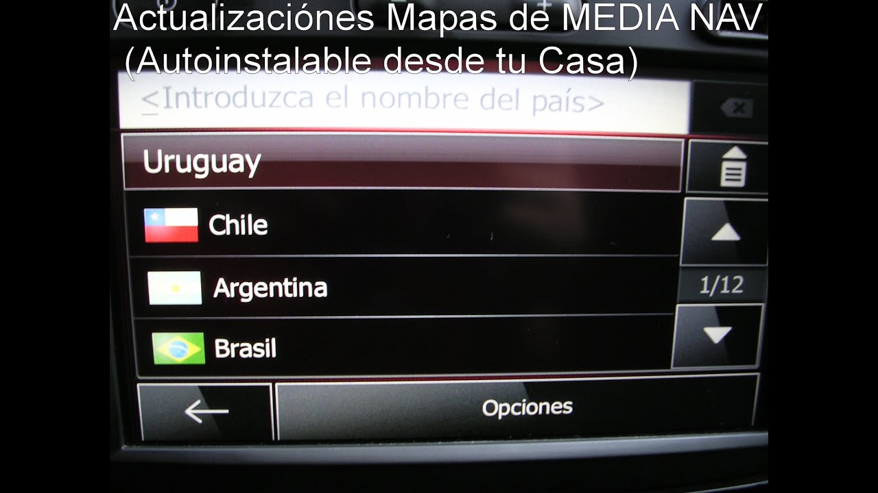 media nav renault mapas originales de uruguay brasil argentina chile medianavcba. Black Bedroom Furniture Sets. Home Design Ideas