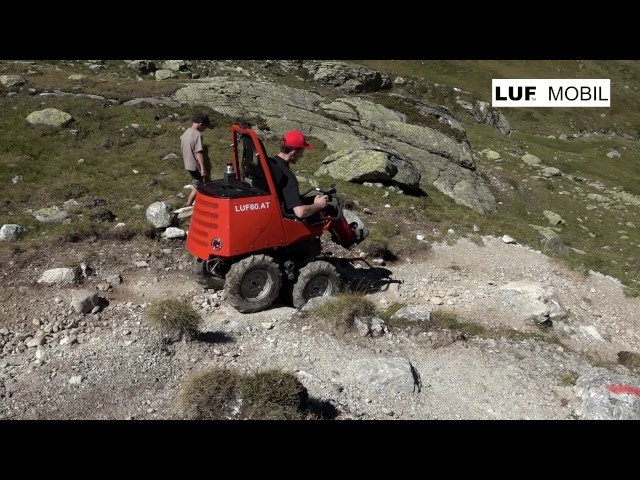 LUF Mobil in the mountains [EXTREME]