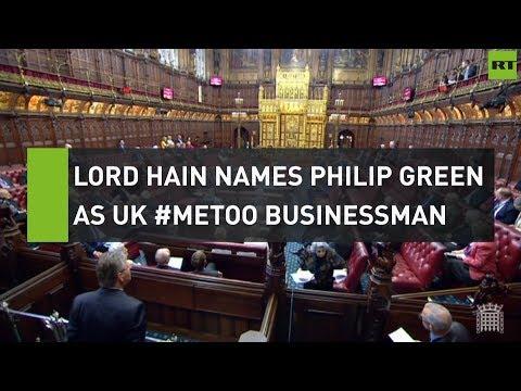 Lord Hain names Philip Green as UK #MeToo businessman