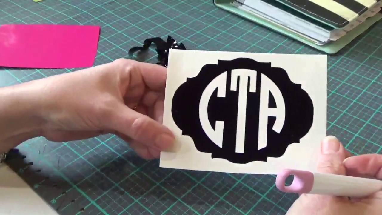 Cricut Design Space: How To Using The Monogram It App And Contour