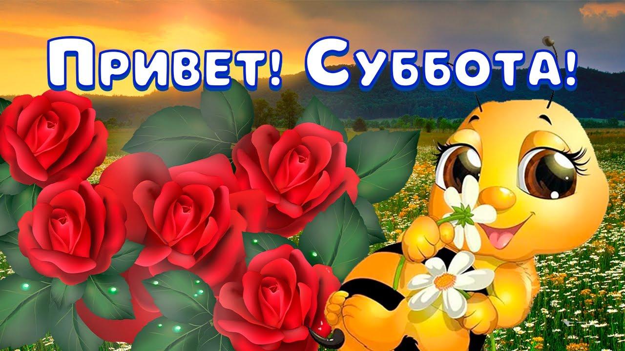С Добрым Утром! Хорошей Субботы! Самое Красивое Пожелание Доброго Утра! Музыкальная Открытка