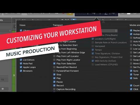 Logic Pro X Basics: Customizing Your Workstation | Music Production